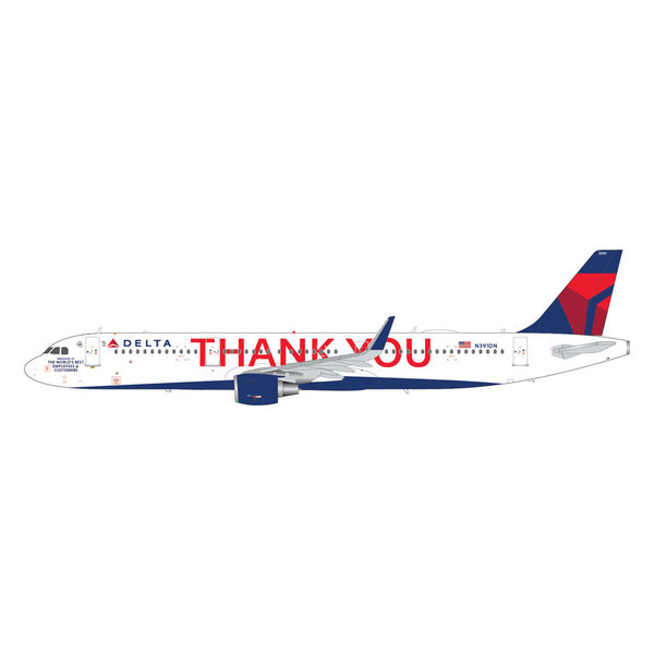 Gemini Jets A321neo Delta 2007 THANK YOU Livery 1:200 +Preorder+