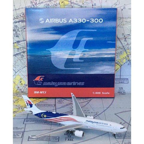 A330-300 Malaysia current livery 9M-MTJ 1:400