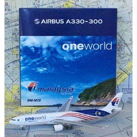 Phoenix A330-300 Malaysia One World 9M-MTE 1:400