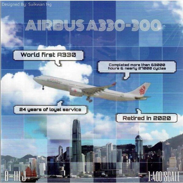 JC Wings A330-300 Dragonair B-HLJ  1:400