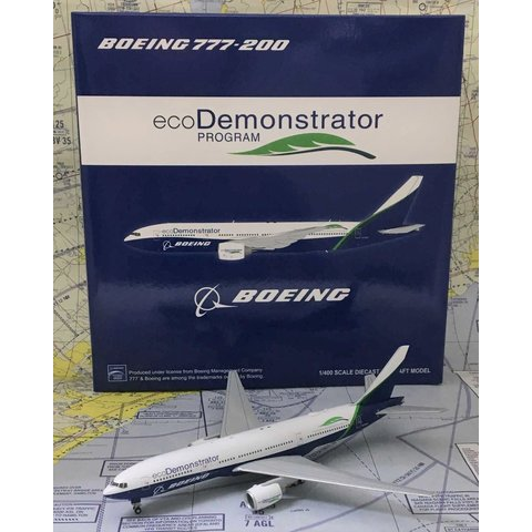 B777-200 Boeing Eco Demonstrator N772T 1:400