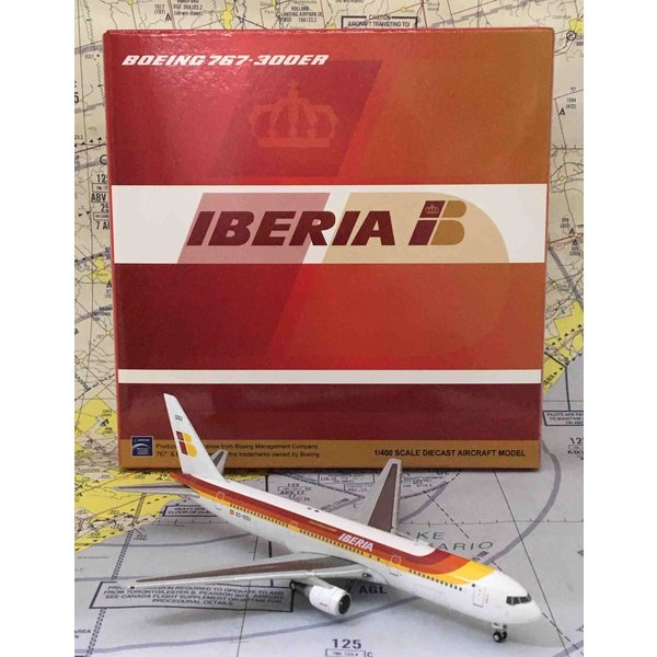 JC Wings B767-300ER Iberia old livery EC-GSU 1:400