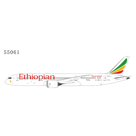 B787-9 Dreamliner Ethiopian Beijing ET-AUO 1:400