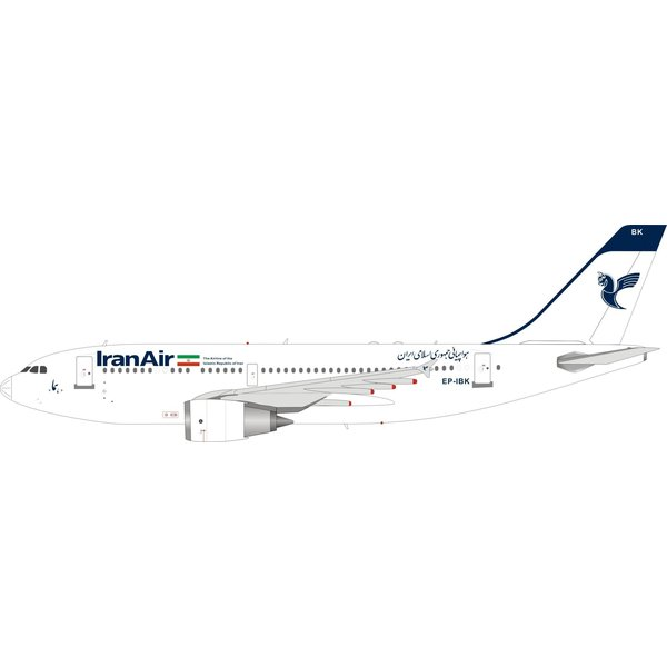 InFlight A310-300 Iran Air EP-IBK 1:200 with stand +Preorder+
