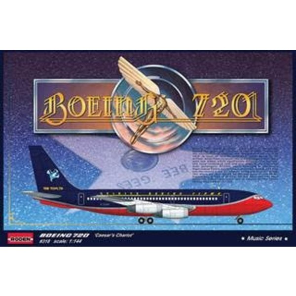 Roden B720 'CEASAR'S CHARIOT' BEE GEES 1979 USA Tour 1:144