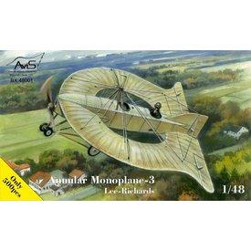 Avis Lee-Richards Annular Monoplane 1:48