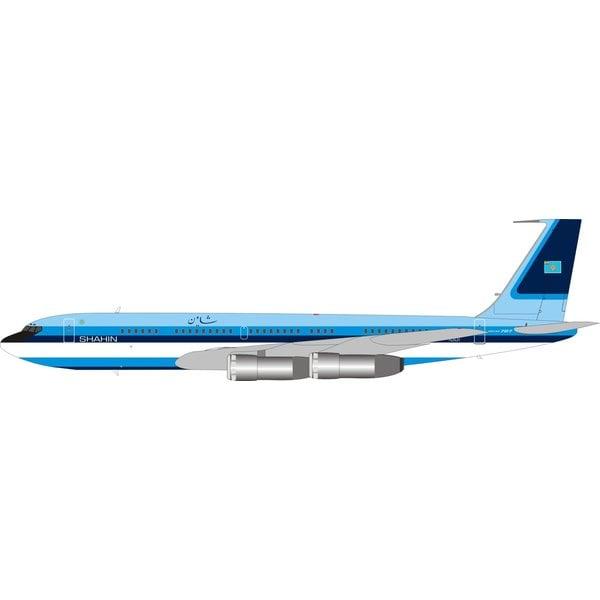 InFlight B707 Iran Air Force Shahin blue livery EP-HIM 1:200 +Preorder+