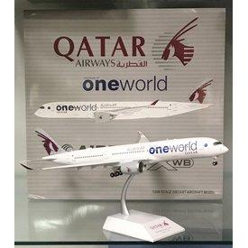 JC Wings A350-900 XWB Qatar OneWorld A7-ALZ 1:200 Flaps