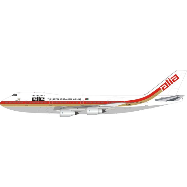 InFlight B747-200 Alia Royal Jordanian JY-AFA 1:200 +Preorder+