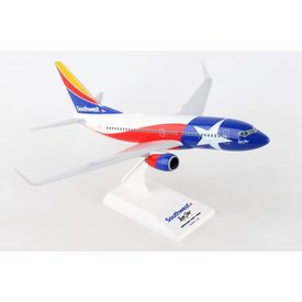 SkyMarks B737-700 Southwest Lonestar One 1:130 with stand