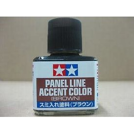 Tamiya Panel line accent colour-Brown [40ml]