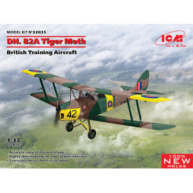 ICM Model Kits DH82A Tiger Moth 1:32 New Tool 2020