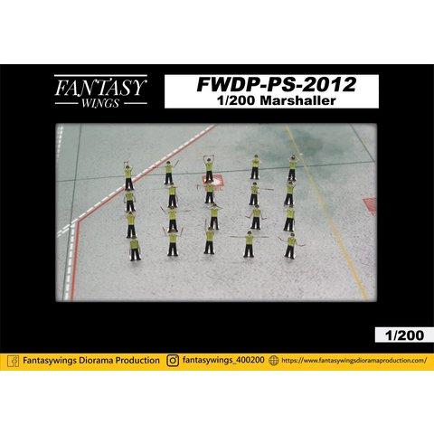 Airport Ground Crew Marshalling Figures 1:200 (20)