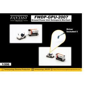 JC Wings Ground  Power Unit GPU Swissport 1:200