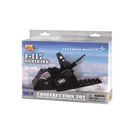 Daron WWT F117 Stealth Fighter Construction toy (74 pieces)