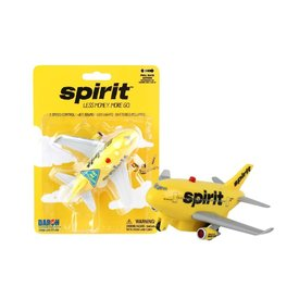 Daron WWT Pullback B737 Spirit Airlines Yellow livery with lights+sounds