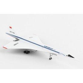 Herpa Tupolev TU144S Aeroflot  CCCP-77109 1:500 +NSI+