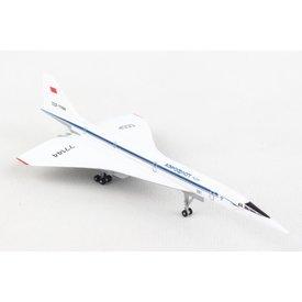 Herpa TU144S Tupolev Design Bureau  Aeroflot CCCP-77144 1:400