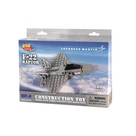 Daron WWT F22 Raptor Construction toy (80 pieces)