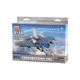 Daron WWT F16 Fighting Falcon construction toy (110 pieces)