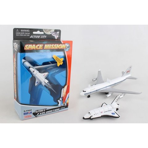 B747 with Space Shuttle diecast set