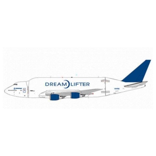 JC Wings B747-400LCF Dreamlifter Boeing N780BA 1:400 flaps down