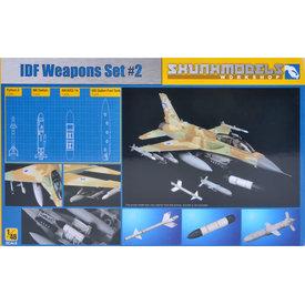 Skunkworks IDF Weapons Set #2 1:48