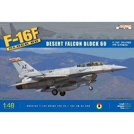 KINETIC F16F Block 60 Desert UAEAF/AZ ANG 1:48