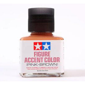 Tamiya Figure Accent Colour Pink-Brown