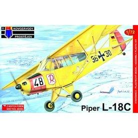 KOPRO Piper L18C German/Belgian/Luxembourg 1:72