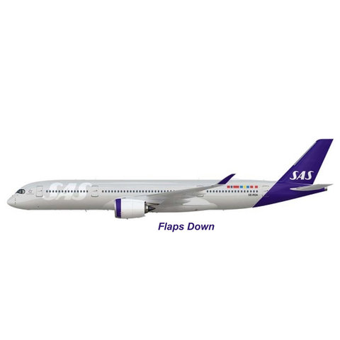 A350-900 SAS Scandinavian New c/s SE-RSA 1:200 flaps down