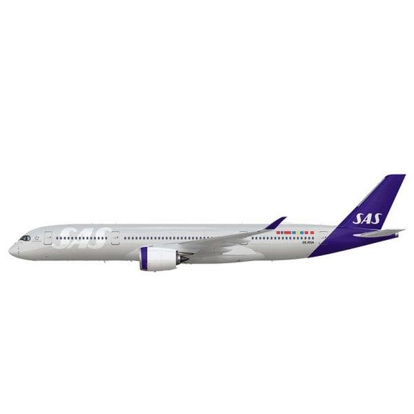 JC Wings A350-900 SAS Scandinavian New c/s SE-RSA 1:200