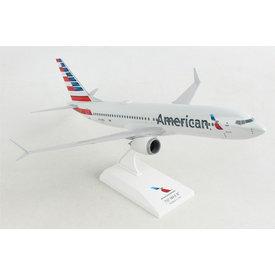 SkyMarks American 737max8 1/130 W/Wifi Dome
