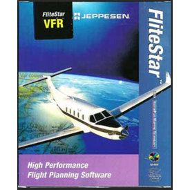 Jeppesen Flitestar VFR North America for Windows