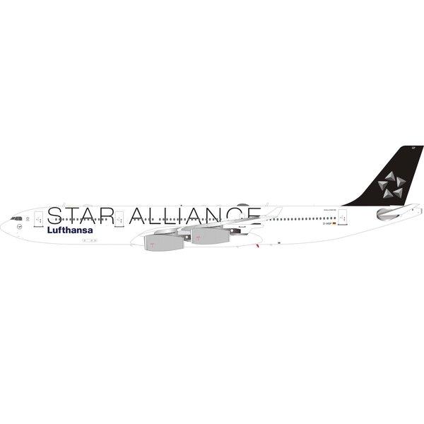 InFlight A340-300 Lufthansa Star Alliance D-AIBP 1:200