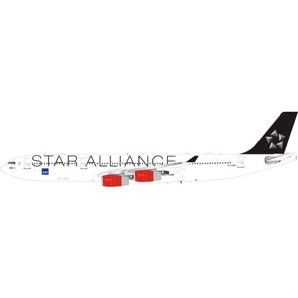 InFlight A340-300 SAS Scandinavian Star Alliance OY-KBM 1:200