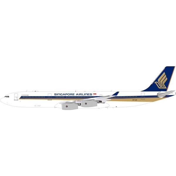 InFlight A340-300 Singapore Airlines 9V-SJG 1:200 +Preorder+