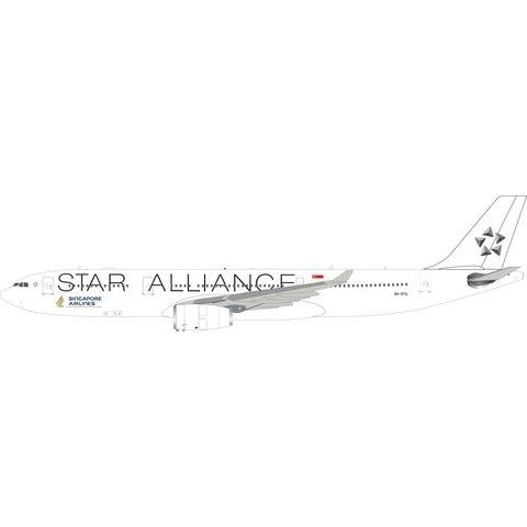 A330-300 Singapore Star Alliance white c/s 9V-STU 1:200 +Preorder+