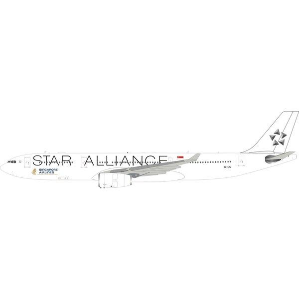 InFlight A330-300 Singapore Star Alliance white c/s 9V-STU 1:200 +Preorder+