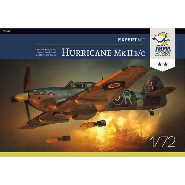 Arma Hobby Hurricane Mk.IIb/c Expert Set 1:72