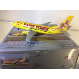 """Herpa B737-400 Western Pacific """"Sam's Town"""" 1:200 *Discontinued*"""