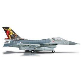 Herpa F16 RNLAF Royal Netherlands Air Force J-002 323rd Diana 1:200 +NSI+