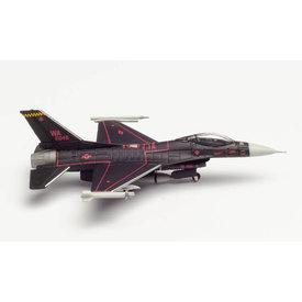 Herpa F16C Viper USAF 64th Aggressor Sqn.Wraith WA 1:200 +NSI+