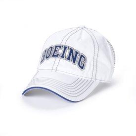 Boeing Store Boeing Varsity Heavy Stitch Cap White