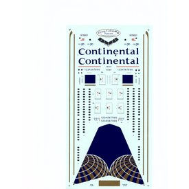 FLYING COLORS  B777-200 CONTINENTAL 1:144 Decals
