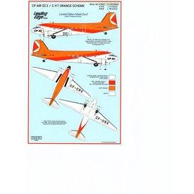 Leading Edge DC3 CP AIR CF-CRX 1:144 Decals