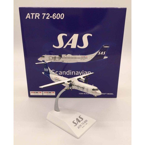 JC Wings ATR72-600 SAS Scandinavian Nordica ES-ATI 1:200