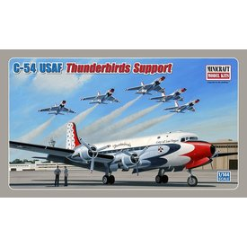 Minicraft Model Kits C54 USAF Thunderbirds Support 1:144