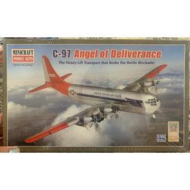 """Minicraft Model Kits C97 USAF """"Angel of Deliverance"""" 1:144"""