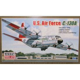 Minicraft Model Kits C130A HERCULES USAF 1:144